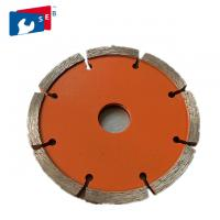 China 115 Mm Tuck Point Diamond Blades Cobalt Powder Painted Color Smooth Cutting wholesale