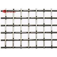 China Aluminum Wire Lock Crimped Woven Wire Mesh For Balcony Railings And Stair Railings wholesale