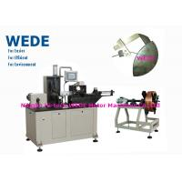 China 3kw Flat Wire Winding Machine With Insulation Paper Inserting Machine wholesale