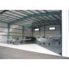 China GB JIS Steel Airplane Hangars Prefab Aircraft Hangars Q235B Q345B wholesale