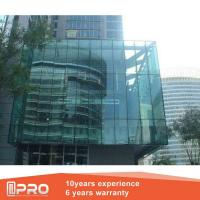China Heatproof Structural Glazing Curtain Wall , Thermal Break Spider Curtain Wall wholesale