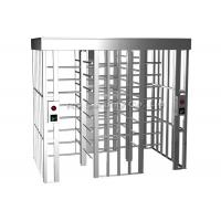 China 304 Stainless Steel Full Height Turnstiles Access Control Turnstile Automatic wholesale