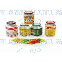 China CMYK Plastic Stretch Film , Shrink Wrap Bands for Bottles 45 Micron / 6 Colors wholesale