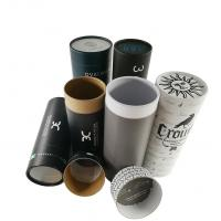 China Biodegradable Child Proof Jar Airtight Container Electronic Cardboard Tube Packaging wholesale