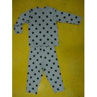 China Rayon Spandex Children'S Cotton Pajamas Polka Dot Pajama Set Playwear 2pc wholesale