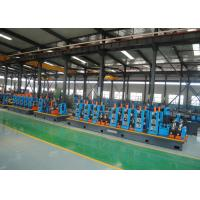 China High Speed Efficiency Capacity Steel ERW Pipe Mill Round & Square Pipe Tube Mill  Making Line wholesale