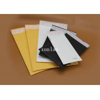 China Multi Color Kraft Paper Bubble Mailers , High Security Courier Packing Bags on sale