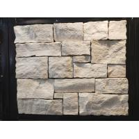 China White Wood Grain Marble Stone Veneer with Steel Wire Back,White Ledger Wall Cladding wholesale