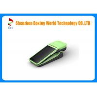 Buy cheap OLED Display 5 Inches Handheld POS Terminal 3G Support Google Android 6.0 from wholesalers