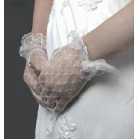 China Tulle Sheer Bridal Gloves wholesale