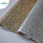 China Hot Selling Fasion Grade 3 PU Glitter Fabric wallpaper wholesale