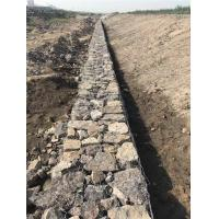 China Flexibility Gabion Retaining Wall , Hexagonal Gabion Wall Cages For Stones wholesale