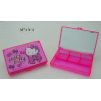 China PLASTIC TRANSPARENT MIRROR STORAG BOX wholesale