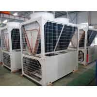 China Air cooled chiller modular type with 122kw capacity- 122x4=130TR scroll chiller wholesale