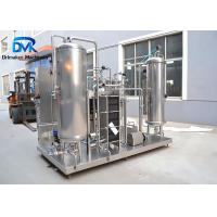 China 4000L Per Hour Liquid Process Equipment Carbonated Drinks Treatment Use wholesale