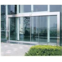China Remote Control Automatic Sliding Glass Doors with wood or stainless Steel Frame wholesale