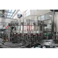 China 2000 - 6000BPH Carbonated Drink Filling Machine Counter Pressure Soda Bottling Equipment wholesale