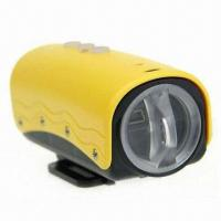 China 1080 Pixels Full HD Waterproof Camera with Diving Function wholesale