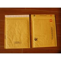 Quality Normal color yellow kraft bubble-lined cushion mailer for sale
