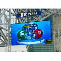 China P4.81 Outdoor Led Display Screen , Led Video Wall Rental Backdrop SMD2727 wholesale
