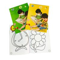 China Glossy Lamination Personalised Stationery Gifts Kid' S Color Filling Book wholesale