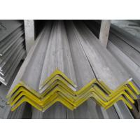 China 316L 304 Stainless Steel Angle , Hot Rolled Polished Stainless Steel Angle Iron wholesale