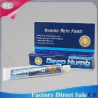 China 10g Topical Deep Numb  Anaesthetic Numb Pain Killer Cream Relief Pain Cream For Electrocautery Tattoo Permanent Makeup on sale