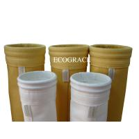 China High Temperature Dust Filter Bag For Cement Plant Of Polyimide Fiber 550GSM wholesale