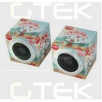 China Customized PP / Paper Foldable Speakers , 1W Stereo Twin Speakers wholesale