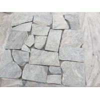 Buy cheap Green Quartzite Random Flagstone,Crazy Stone,Irregular Flagstones,Landscaping from wholesalers