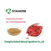 China Natural Barbary Male Enhancement Powder , Gojiberry Wolfberry Fruit Extract wholesale
