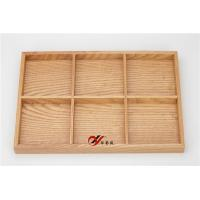 China Wooden 3*2 Jewelry Storage Tray For Rings / Earrings / Bracelet wholesale