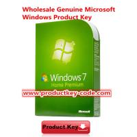 Quality Microsoft Windows 7 Product Key Codes For Windows 7 Home Premium FPP key ESD Download for sale
