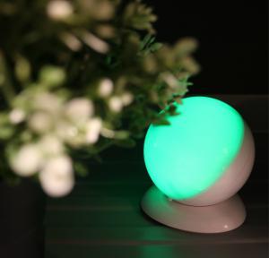 China Round Shape Wireless Motion Sensor Night Light , USB Powered Led Lights For Decorating on sale