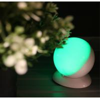 China Round Shape Wireless Motion Sensor Night Light , USB Powered Led Lights For Decorating wholesale