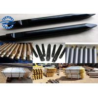 China Rammer G100 Hydraulic Breaker Chisel , Moil Point Chisel GB / TOKU / TOYO / NPK / FURUKAWA wholesale