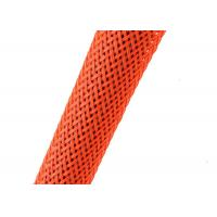 China Cable Protection Braided Nylon Sleeve Multi Colors With PA / PET Filaments wholesale