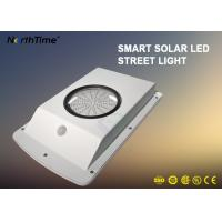 China All In One Solar Garden Lamp , Dimmable Motion Sensor Street Light Last 4 Rainy Days wholesale