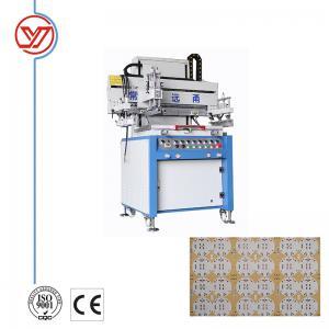 China YO-5070 Single Color High Quality Card Screen Printing Machine on sale