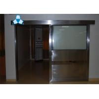 China Anti - Radiation Automatic Hospital Doors With Sliding Single Leaf , Easy Clean And Antibiosis wholesale