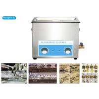 China 300W 6.5L Mechanical Ultrasonic Cleaner For Musical Brass Instrument on sale