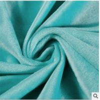 China Polyester super soft flannel, Supersoft knitted apparel fabrics wholesale