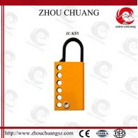 China Different  types and colors  Steel Aluminum Hasp for lockout wholesale