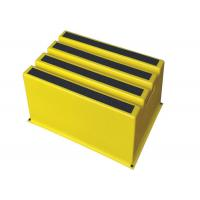China Abrasive Tape Small Step Stool , Step Up Stool Hand Holes For Easy Lifting wholesale
