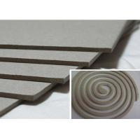 Quality Solid 1500gsm Unbleached Grey Board Raw Material for Mosquito Coil for sale