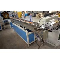 China CE & ISO Approval pvc Fiber Reinforced Plastic Pipe Extrusion Machine Double Screw Extruder on sale