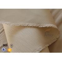 Buy cheap 600gsm Silica Fabric Fiberglass 800 Degree High Temperature Oven Insulation from wholesalers