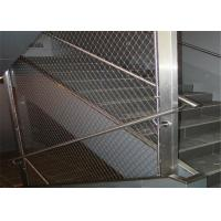 China 7x7 7x19 Ferruled Stainless Steel Rope Mesh Netting / Architectural Wire Rope Mesh wholesale