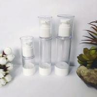 Quality 50ml AS airless vacuum pump cosmetic lotion bottle for sale