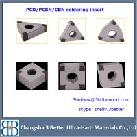 China china factory different shapes pcd insert & cbn insert diamond tools wholesale